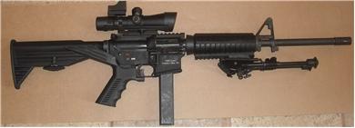 9mm bumpfire ar15