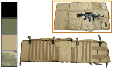 CVSM2913 rifle case and shooting mat